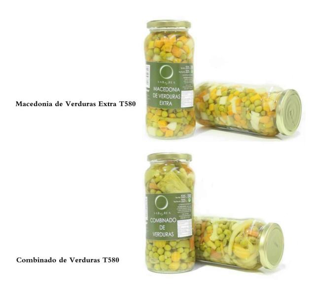 Macedonia y Combinado de Verduras