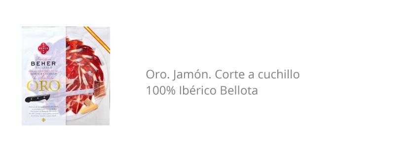 jamon iberico beher